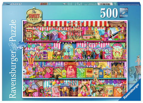 Ravensburger 500 Piece Jigsaw - The Sweet Shop