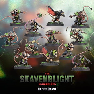 Blood Bowl 2016 - Skavenblight Scramblers