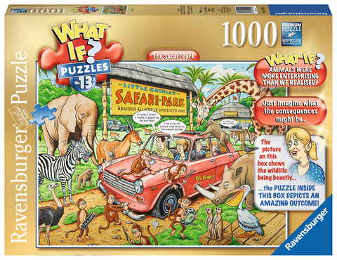 Ravensburger 1000pc Jigsaw  - What if? Series #13 The Safari Park