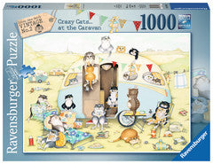 Ravensburger 1000pc Jigsaw - Crazy Cats at the Caravan