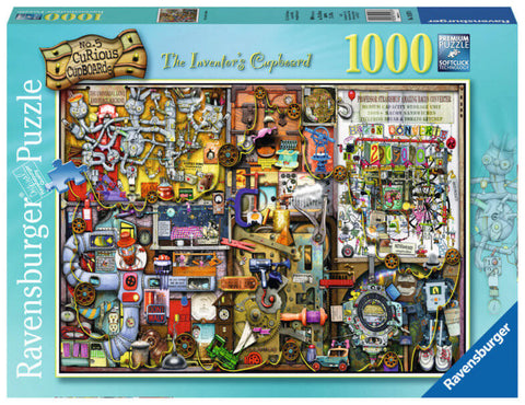 Ravensburger 1000 Piece Jigsaw - The Inventor's Cupboard