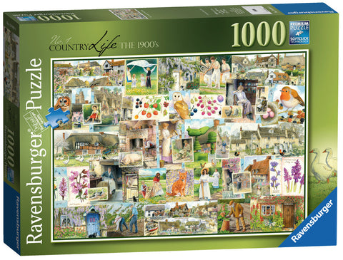 Ravensburger 1000pc Jigsaw - Country Life The 1900's