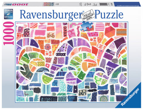 Ravensburger 1000 Piece - Wave Mosaic