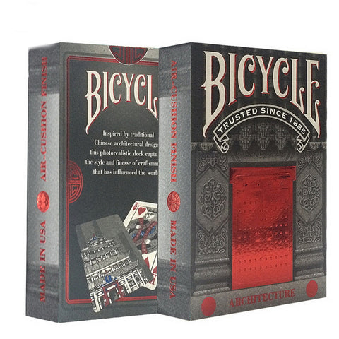 Bicycle Architecture Playing Cards