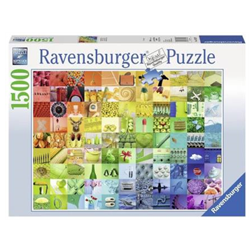 Ravensburger 1500 Piece Jigsaw - 99 Beautiful Colors
