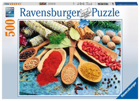 Ravensburger 500 Piece Jigsaw - Colorful Spices