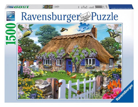 Ravensburger 1500 Piece Jigsaw - Cottage in England