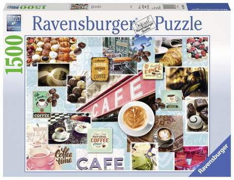 Ravensburger 1500 Piece - Coffee and Cake