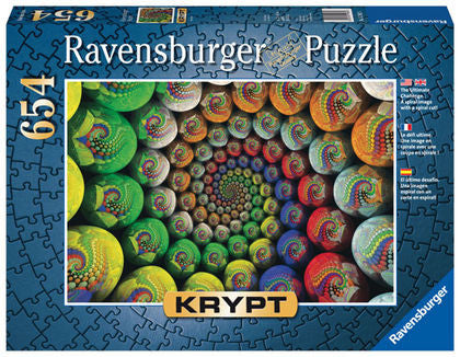 Ravensburger 654 Piece Jigsaw - Krypt Color Spiral