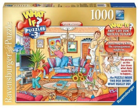 Ravensburger 1000pc Jigsaw - What if? Series #3 Home Makeover