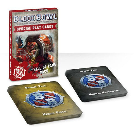 Blood Bowl Special Play Cards: Hall of Fame Pack**