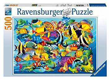 Ravensburger 500 Piece Jigsaw - Fish Frenzy