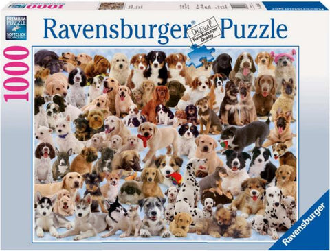 Ravensburger 1000pc Jigsaw - Dogs Galore!