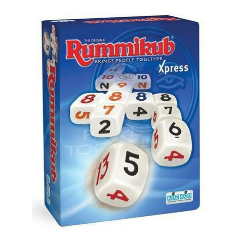 Rummikub Xpress Dice Game - Second Hand