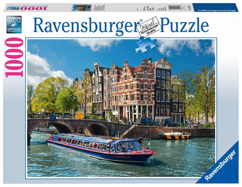 Ravensburger 1000pc Jigsaw - Canal Tour in Amsterdam