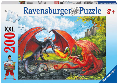 Ravensburger 200 Piece Jigsaw - Duelling Dragons