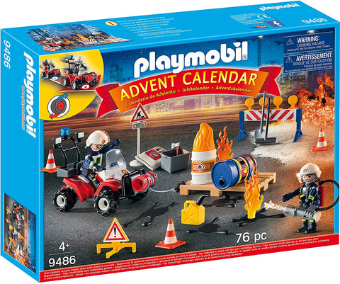 Playmobil Advent Calendar - Fire Rescue