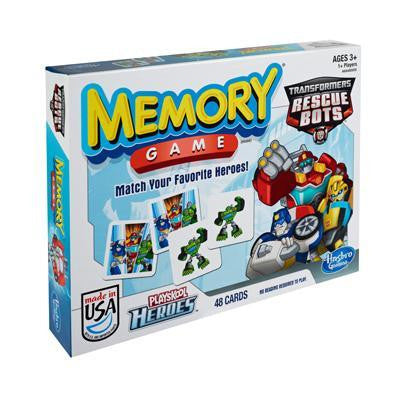 Memory Game - Transformers Rescue Bots