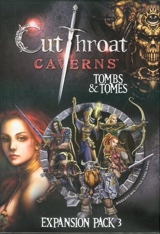 Cutthroat Caverns Tombs and Tomes Expansion