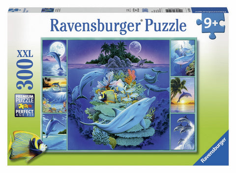 Ravensburger 300 Piece Jigsaw - Dolphin Collage