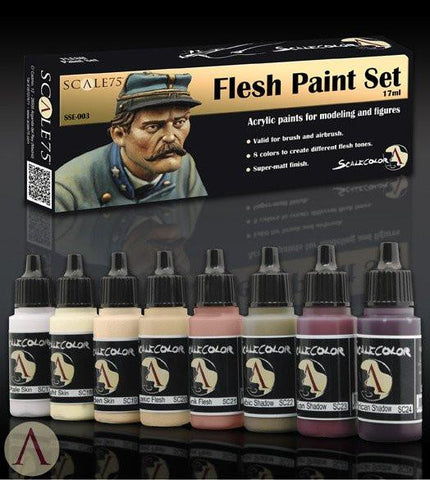 Scale 75 Metal n' Alchemy - Flesh Paint Set