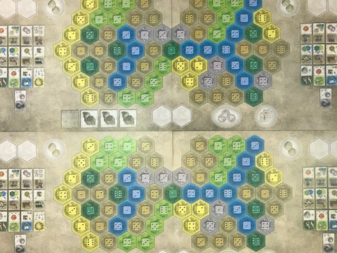 The Castles Of Burgundy  – The Team Game Expansion