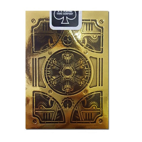 Bicycle Gold Steampunk Playing Cards