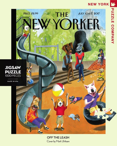 The New Yorker 1000 Piece Jigsaw Puzzle - Off the Leash