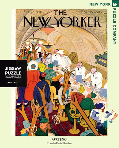 The New Yorker 1000 Piece Jigsaw Puzzle - Apres Ski