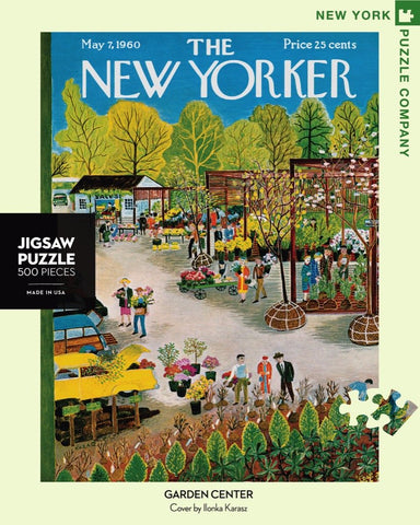 The New Yorker 500 Piece Jigsaw Puzzle  - Garden Center