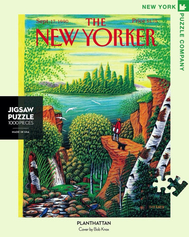 The New Yorker 1000 Piece Jigsaw Puzzle  - Planthattan