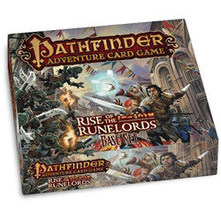"Pathfinder Adventure Card Game: ""Rise Of The Runelords"" Base Set - Display Copy - Cards Still in Shrink"