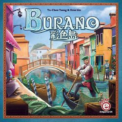 Burano - Damaged Box, Contents Mint Condition, Unpunched.