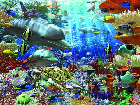 Ravensburger 1500 Piece Jigsaw - Oceanic Wonders