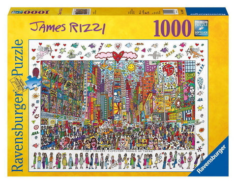 Ravensburger 1000 Piece Jigsaw - James Rizzi, Times Square