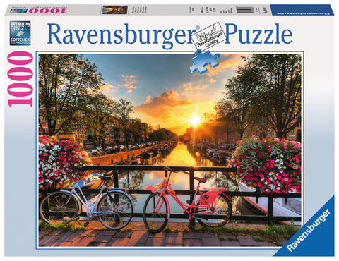 Ravensburger 1000 Piece Jigsaw - Bicycles in Amsterdam