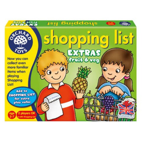 Shopping List Booster Pack - Fruit and Veg