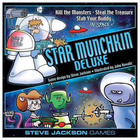 Star Munchkin Deluxe Card Game