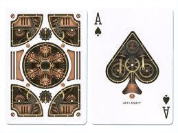 Bicycle Bronze Steampunk Playing Cards