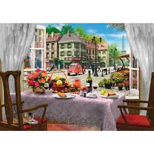 Wentworth Wooden Puzzle - Le Cafe Paris 40pc