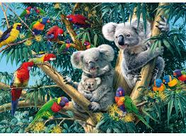 Wentworth Wooden Puzzle - Koala Outback 40pc