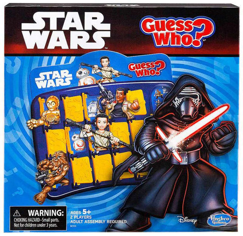 Guess Who Star Wars Edition