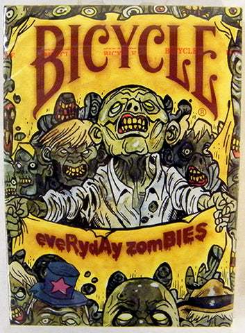 Bicycle Every Day Zombies Playing Cards