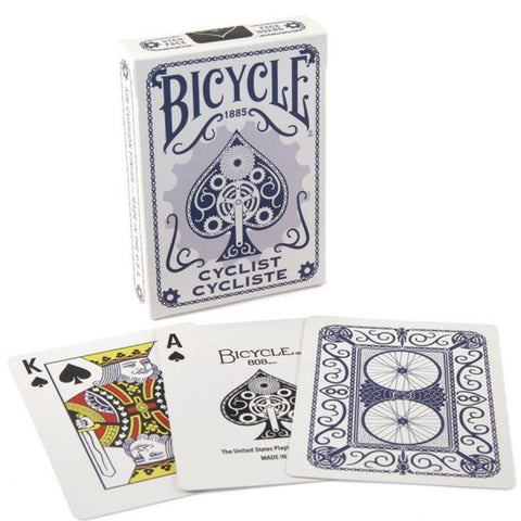 Bicycle Cyclist Playing Cards - Blue