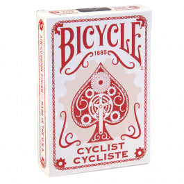 Bicycle Cyclist Playing Cards - Red