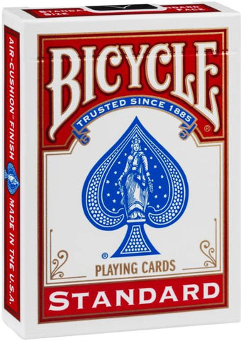 Bicycle Standard Red Playing Cards