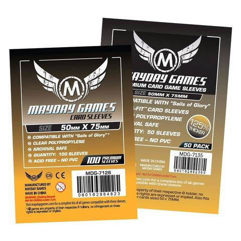 Mayday Standard 50mmx75mm Card Sleeves - 100 Pack