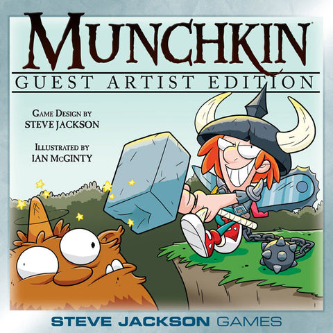 Munchkin Card Game - Guest Artist Edition