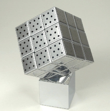 Stainless Steel Rubiks Cube