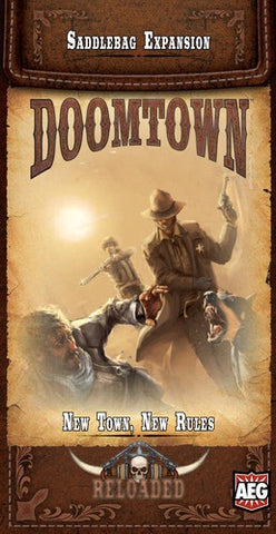 Doomtown Expansion - New Town, New Rules.